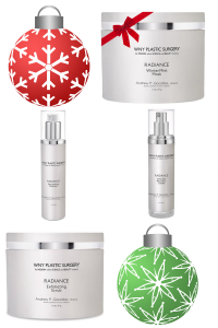 Winter Skin Wonderland Includes: Radiance Revitalizing Cleanser, Radiance Exfoliating Scrub, Radiance Wintermint Mask, and Radiance Intensive Recovery Cream